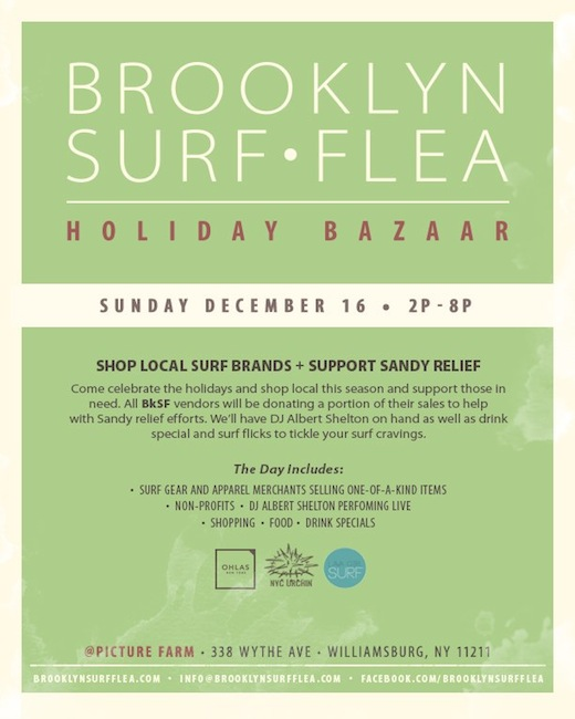 BrooklynSurfFlea_Sandy_Fundraiser